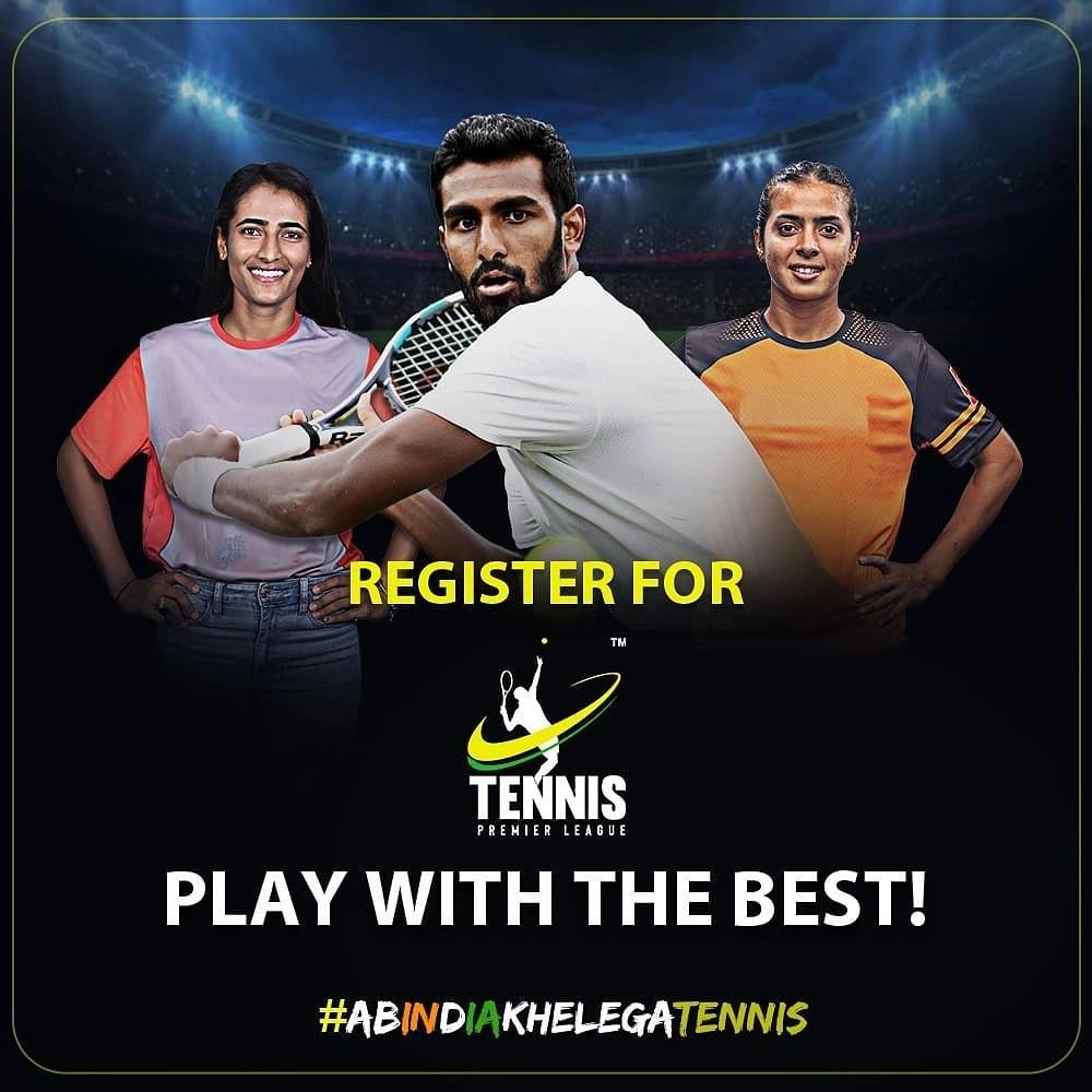 Tennis Premier League (TPL) Season 3 Registration.