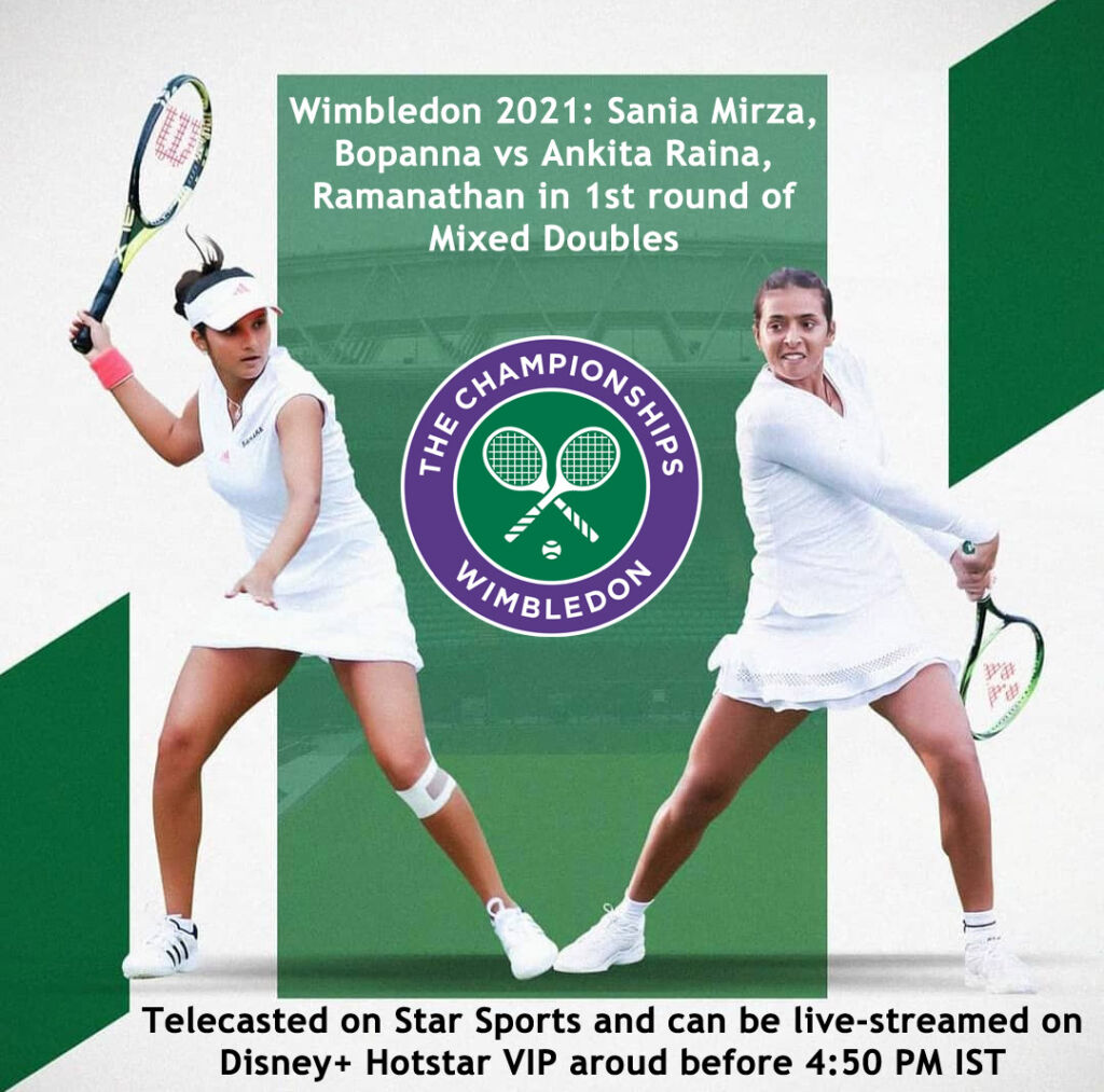Sania Mirza to face-off Ankita Raina - when and where to watch, LIVE streaming