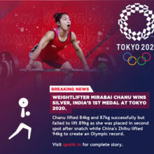 Mirabai Chanu wins India's first medal with silver in women's 49kg weightlifting