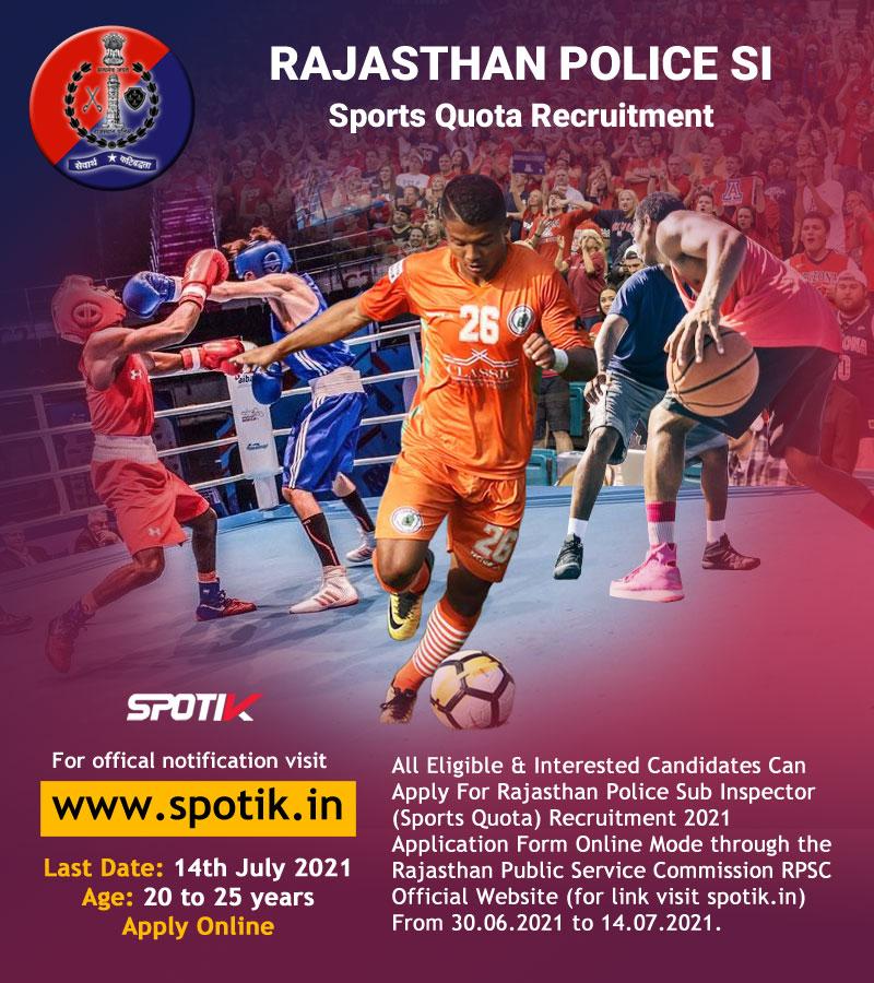 Rajasthan Police Sports Quota Recruitment