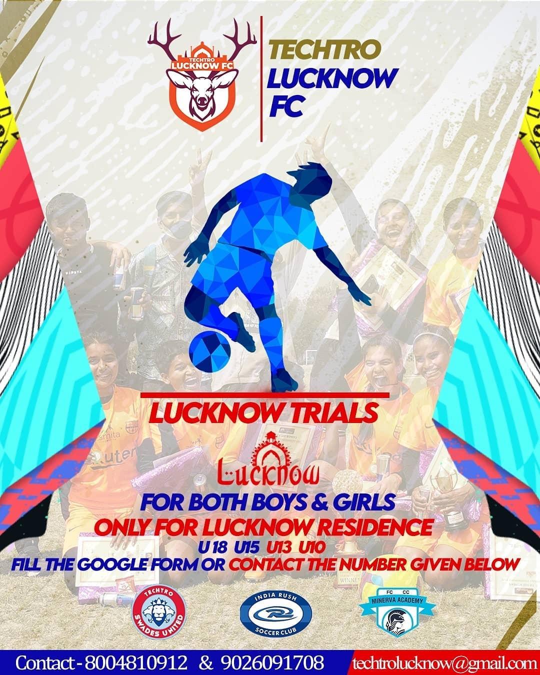 Techtro Swades United, Lucknow Trials