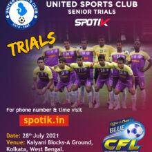 United Sports Club Senior Trials, Kolkata