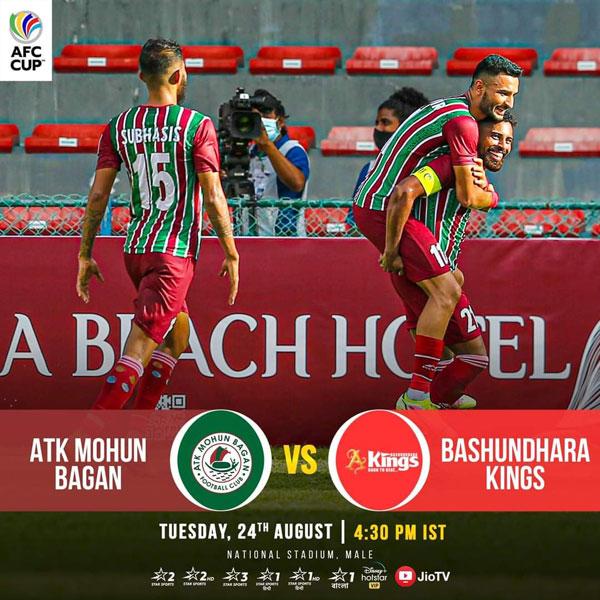 ATK Mohun Bagan Vs Bashundhara Kings