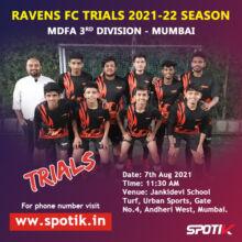 Ravens FC Trails, Mumbai