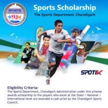 Scholarship Scheme: The Sports Department, Chandigarh