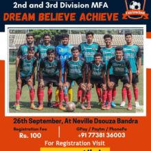 D'souza Football Academy Trials, Mumbai