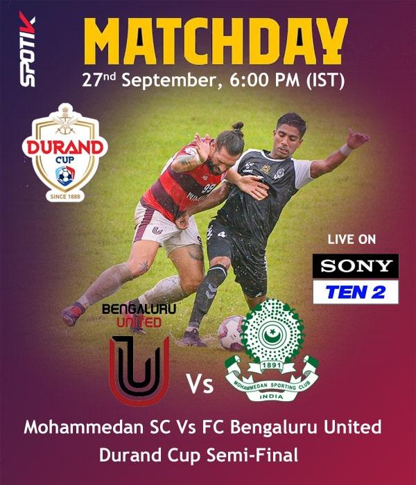 Mohammedan Sporting Vs FC Bengaluru United