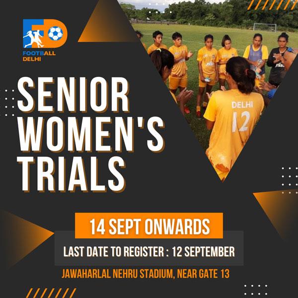 Football Delhi Senior Women's Team Trials