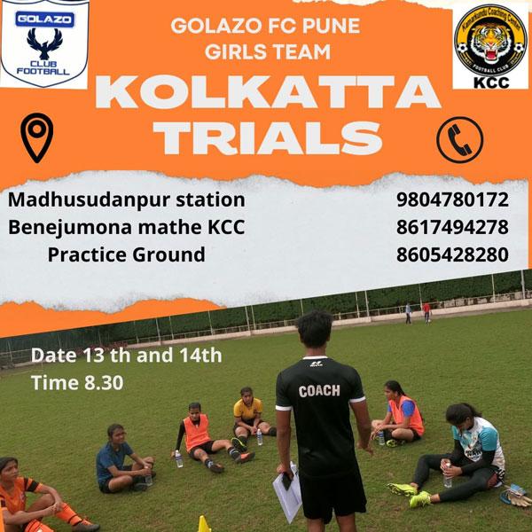 Indian Women's League Trials, Kolkata