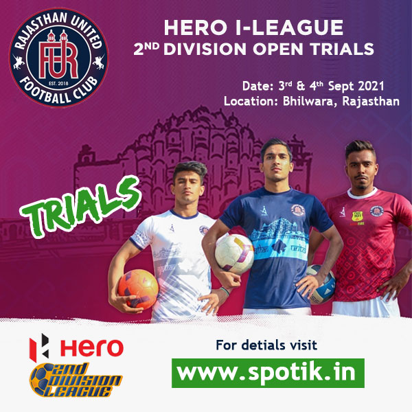 RUFC Hero I-league 2nd Division Trials.