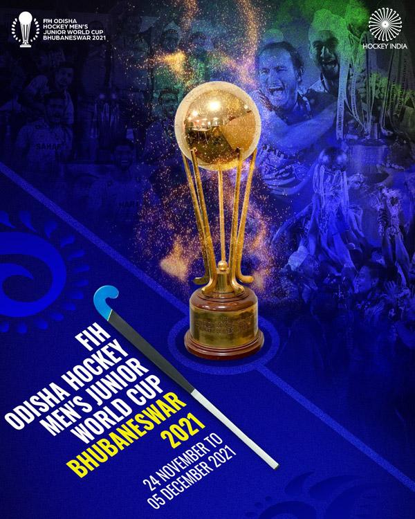 India to host the prestigious FIH Hockey Men's Junior World Cup 2021 in Bhubaneswar