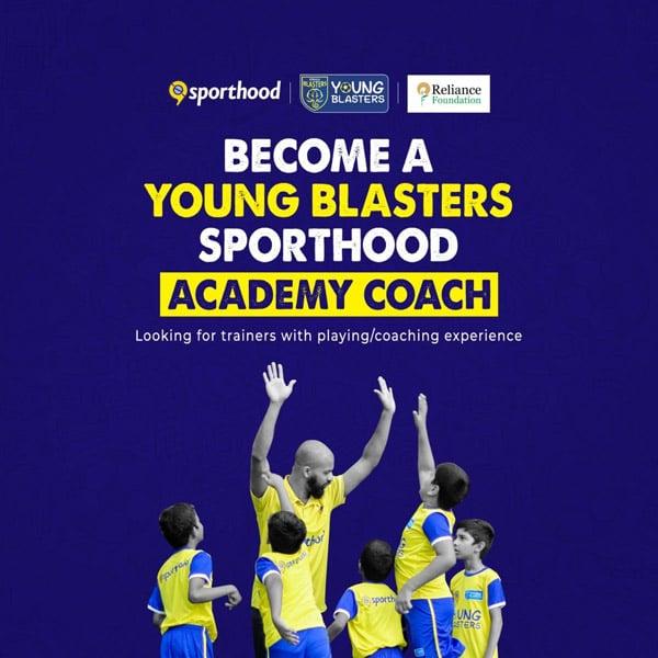 Become Kerala Blasters Academy Coach