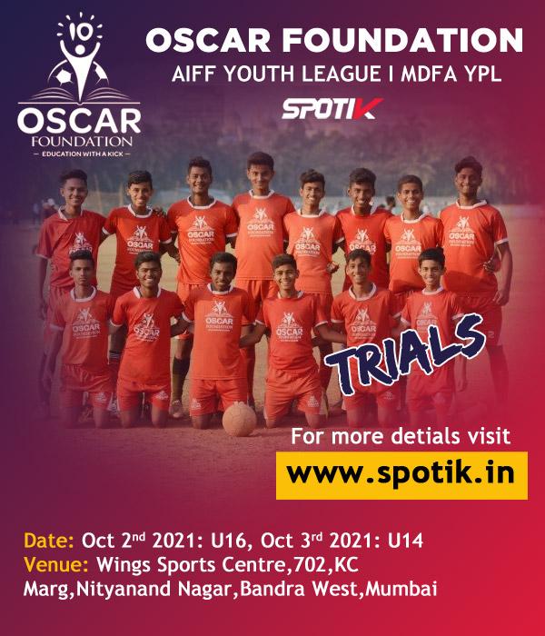 OSCAR Foundation Football Trials, Mumbai