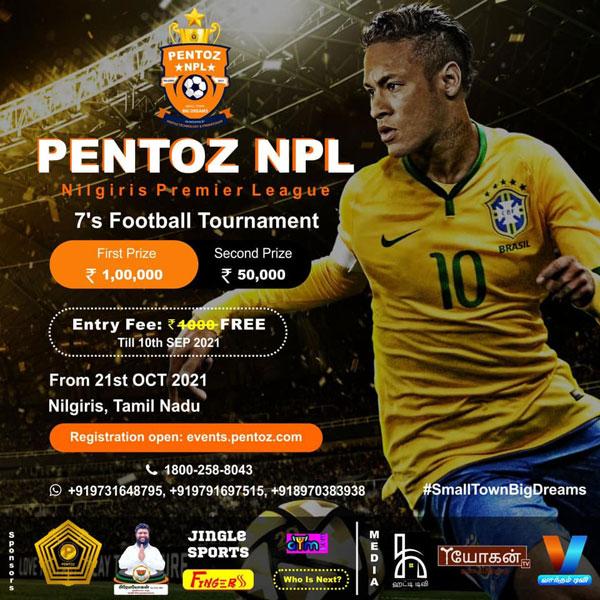 Pentoz Nilgiris Premier League, Tamil Nadu