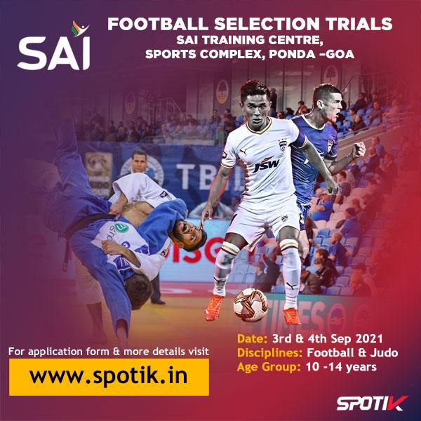 SAI Football Selection Trials, Goa
