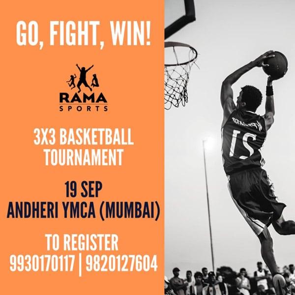 The 3x3 basketball tournament, Mumbai