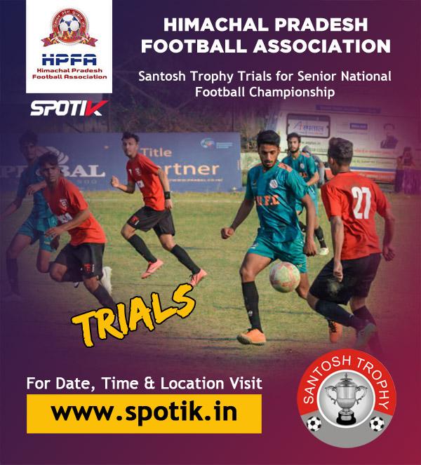 Himachal Pradesh Football Association, Santosh Trophy Trials