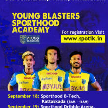 Scholarship Trials - Young Blasters Academy, Trivandrum