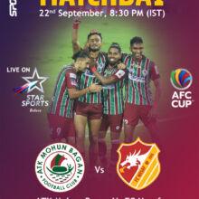 ATK Mohun Bagan take on FC Nasaf challenge at AFC Cup.