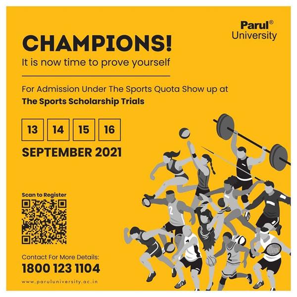 Parul University Sports Quota, Vadodara