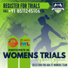 Selection for ARAFC women's team.