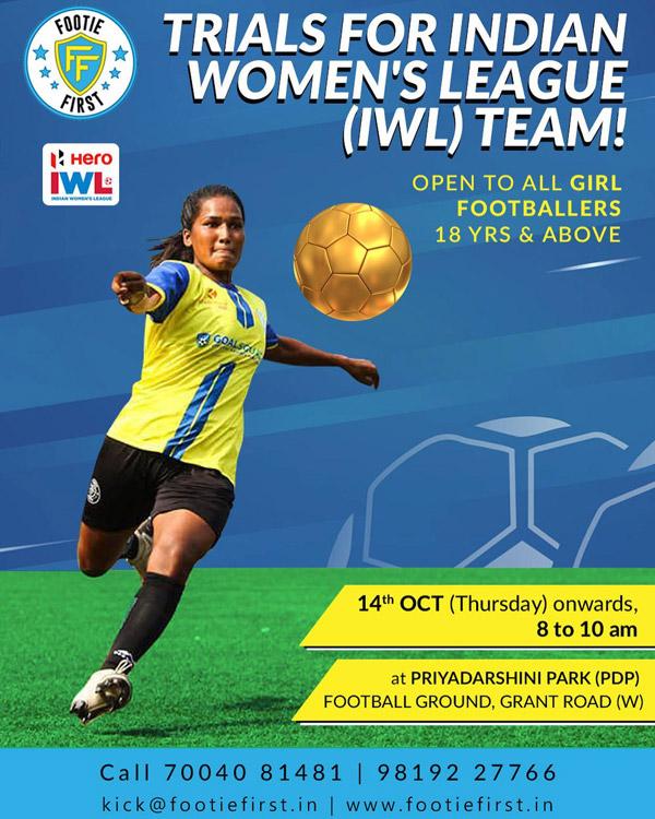 Footie First - Indian Woman's League Trials, Mumbai