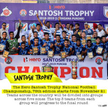 75th Hero Santosh Trophy