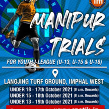Transition football Academy Imphal Trials