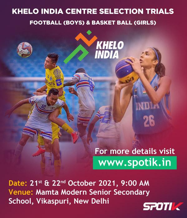 Selection Trials for Khelo India Centre, New Delhi
