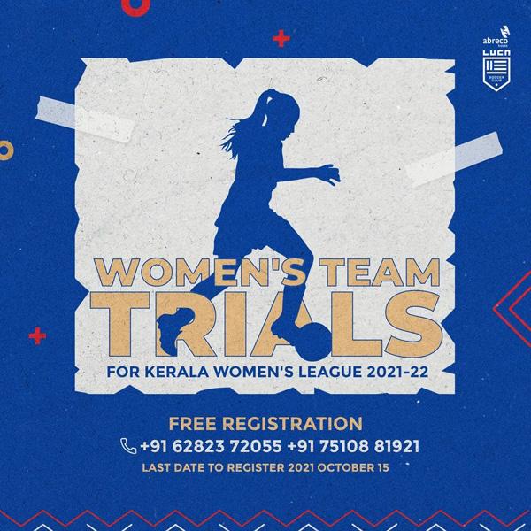 Luca soccer club Women's Trials, kerala