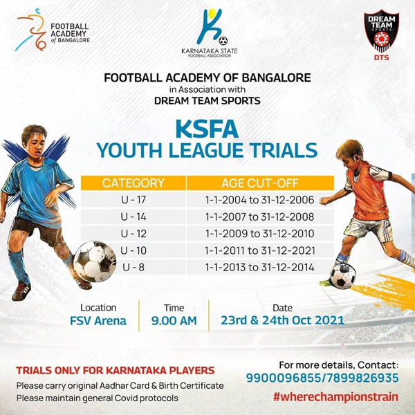 Football Academy of Bangalore Trials, Bengaluru